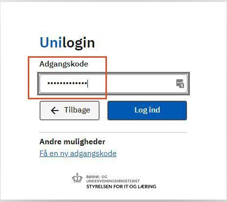 appwriter-indtast-unilogin-adgangskode