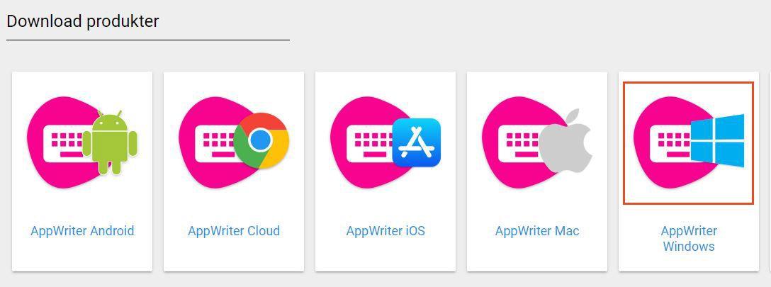 appwriter-valg-hent-appwriter-windows